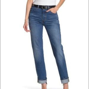 Levi's 501 High Rise Jeans 29 Button fly closure